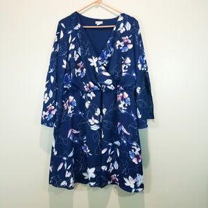 Westport Navy Floral Dress